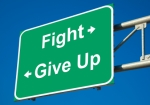 fight or give up