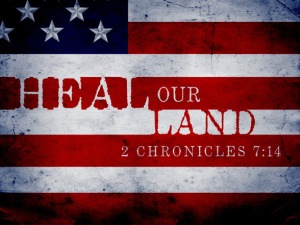 Heal our land God