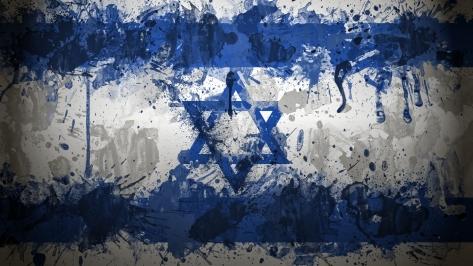 Israel-Flag-Art-Desktop-Wallpaper