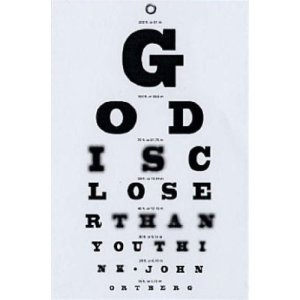 God closer than you think