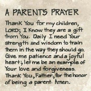 parents prayer