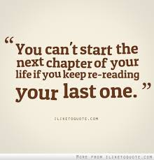 start next chapter in life