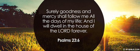 Goodness and Mercy of God