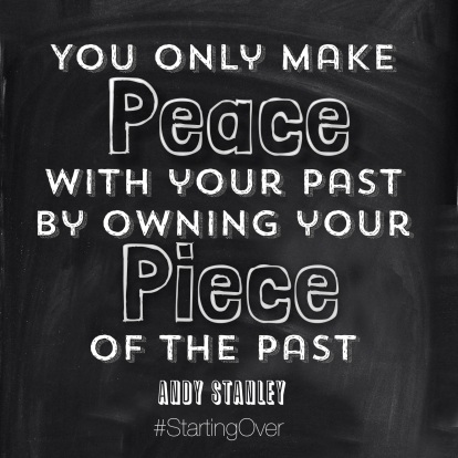 Using Your Past